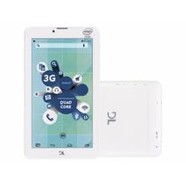 Tablet Dl Tecphone 600 8gb 3g Wi-fi Intel - Função Telefone