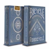 Cartas De Magia Y Poker Bicycle Robocycle Azules - Original