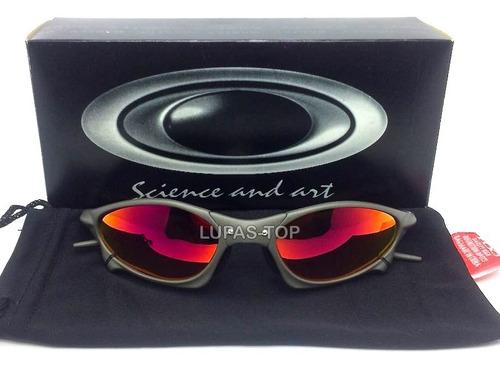Oculos Oakley Penny X X Metal Lente Fire Red + Brinde Lente - R  139 ... 7b295742f14