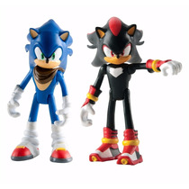Sonic E Shadow Figura Articulada Tomy To-22502a2-g