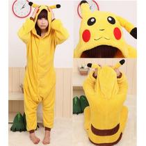 Pijama Pikachu Kigurumi Disfraz Cosplay Ropa Dormir Pokemon