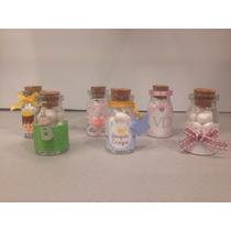 Botellas Decorativas De Vidrio Con Tapa De Corcho