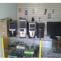 Computadora Completa. Cpu, Monitor Plano, Teclado