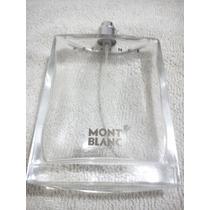Frasco De Perfume Vacio Presence De Mont Blanc