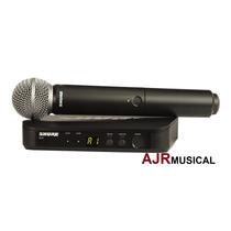 Microfone Shure Blx24/sm58 Blx-24/sm-58 Blx24 Sm58 Original