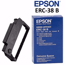 Cinta Epson Erc-38 B Original Color Negro