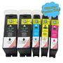 Pack 5 100 Xl Tinta Cartuchos Sistema Para Lexmark Pro705