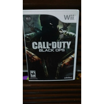 Jogo Nintendo Wii Call Of Duty Black Ops