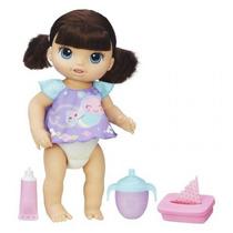 Boneca Baby Alive Fraldinha Mágica Morena - Original Hasbro