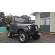 Jeep Willys 06 Cilindros, 4x4 Impecavel, Tudo Original