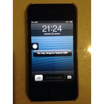 Celular, Movil, Iphone 4 8gb Telcel Negro C/caja Original