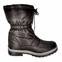 Padrísimos Botines Negros Ideales Para El Invierno Mod. 2016