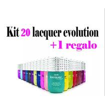 Kit 20 Lacquer Evolution 15 Ml ( Gel Gelish ) + Regalo