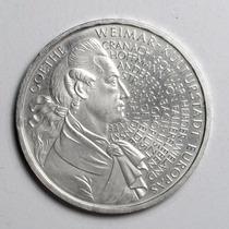 Rara Moeda Prata Da Alemanha Comemorativa 10 Marcos De 1999