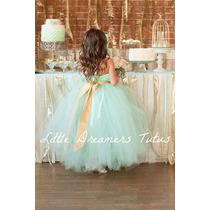 Vestido De Fiesta Nena Cortejo Casamiento Navidad