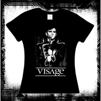 Visage - Night Train Blusa New Wave Depeche Mode Morrissey
