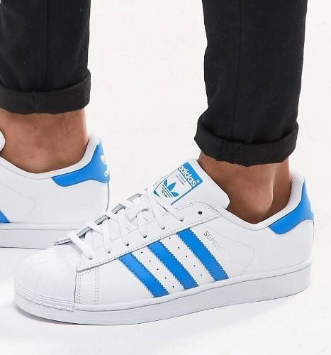 adidas superstar celestes