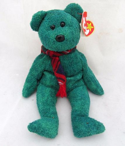 Ty Beanie Baby Wallace Osito Verde Navideño -   165.00 en Mercado Libre 04a00f73bd9