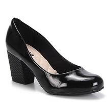 Sapato Salto Feminino Moleca - Preto
