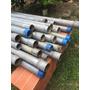 Tubo Galvanizado Astm De 1 1/2 Pulgada Medidas 6.60 Mtrs