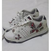 Zapatos Para Niña Decorados Con Diseños Marca Red Talla 34