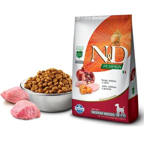 N&d Calabaza Perro Adulto Pollo Median 10.1kg Envio Gratuito ...