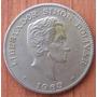 Moneda Colombia 50 Centavos 1963 Giro 30 Grados Y Die Cracks