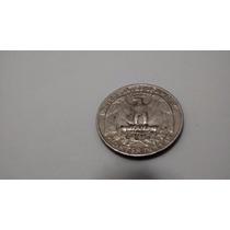 Moeda Antiga Raridade Eua Quarter Dollar 1985