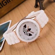 Relógio Adidas Pulseira De Silicone Unissex