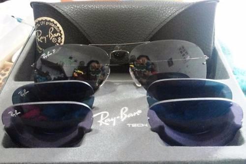 lente ray ban quebrou