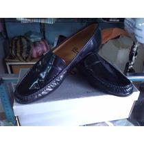 Zapatos Rossi . Nuevos Originales. De Cuero . Color Negro