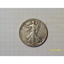 Estados Unidos 1/2 Dólar Plata 1944 12,5 Gr
