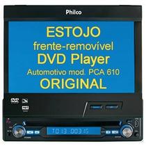 Philco Estojo Frente Dvd Automotivo Pca610 - Original!
