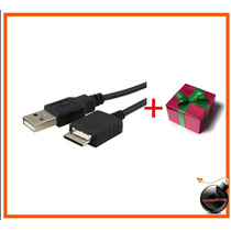 Cable Usb Reproductor Mp3 Mp4 Sony Walkman Cargador Y Datos