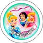 Pins Disney Princesas Souvenirs Personalizados 55 Mm Morón