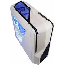 Gabinete Gamer Nzxt Phantom 410 Mid Tower Acero 3 Coolers B