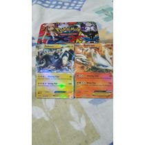 Card Pokemon Reshiram Ex. Zekrom Ex