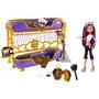 Monster High Dead Tired Clawdeen Lobo Doll Y Cama Playset