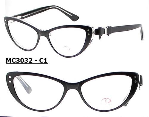 fb0b7d272735b Armação Óculos De Grau Modelo Gatinho Varias Cores Feminino - R  54 ...