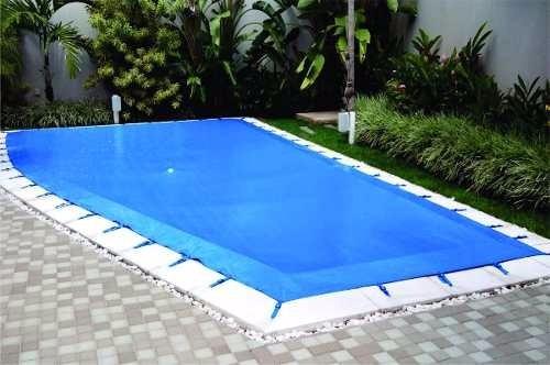 Capa de piscina cobertura lona piscina 5 5mx3 5m novo r - Piscina de jodar ...