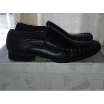 Zapatos De Vestir Para Caballeros Marca Ponty T-40 Negros