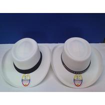 Sombrero Estilo Colonial En Tela Varios Colores (mayoristas)