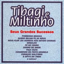Cd / Tibagi E Miltinho = E Seus Grandes Sucessos - 20 Músic
