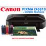 Canon Pixma Ix6810 + Sistema Continuo + Residuos Externos