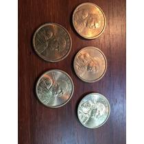 Robmar-lote De 5 Monedas De 1 Dolar Sacagawea- Usa,al Asar