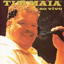 Rock Pop Mpb Funk Cd Tim Maia Ao Vivo Original