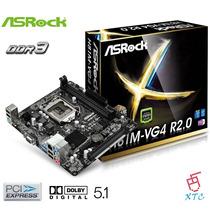 Tarjeta Madre Asrock H81m-vg4 R2.0 Cpu Socket 1150 Ddr3 Xtc