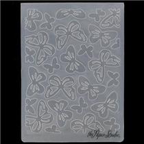 Scrapbook Folder Para Repujado Butterflies Cuttlebug Sizzix