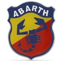 Emblema Resinado Escudo Abarth