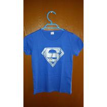 Polera Niño Superman Talla 7